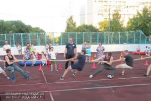 Спортивное мероприятие в ЮАО