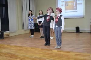 Участники конкурса английской поэзии