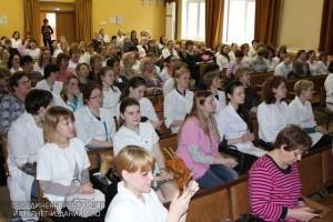 Медсестры на конкурсе