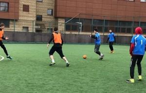 Участники мини-футбольного соревнования