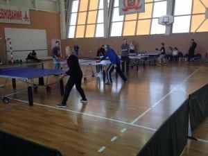 Окружные соревнования по настольному теннису 23 апреля