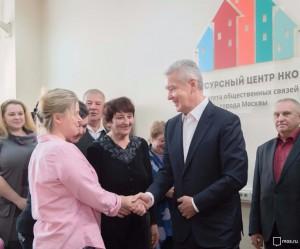 Сергей Собянин на встрече с жителями по вопросам реновации жилфонда