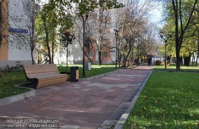 Улица района Чертаново Южное