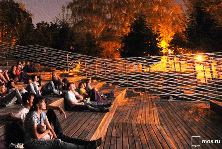 Сиюня в столичных парках начнутся бесплатные кинопоказы