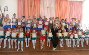 """Детская танцевальная студия """"Адажио"""" с дипломами"""