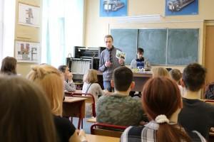 Студенты многопрофильного техникума им. Красина