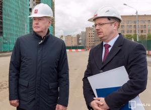 Сергей Собянин на осмотре хода комплексной застройки территории ЗИЛа