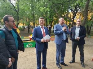 Анатолий Выборный в ходе встреч с жителями