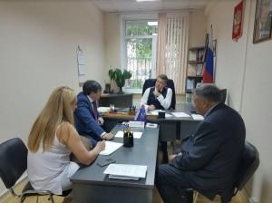 Анатолий Выборный проводит прием граждан