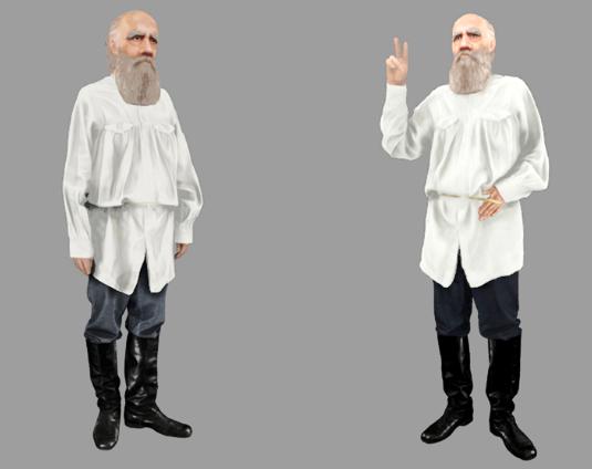 Селфи свиртуальным двойником Льва Толстого можно будет сделать вцентре столицы