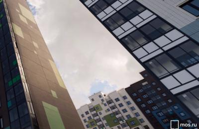 Архитектурный проект новых зданий в Москве