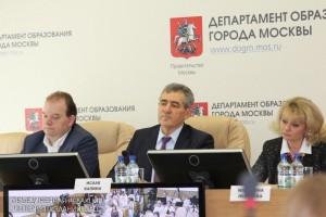 Пресс-конференция Департамента образования Москвы
