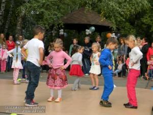 Дети на празднике в ЮАО