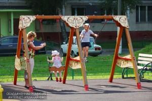 Детская площадка в Чертанове Южном