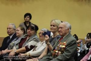 Ветераны на мероприятии в ЮАО