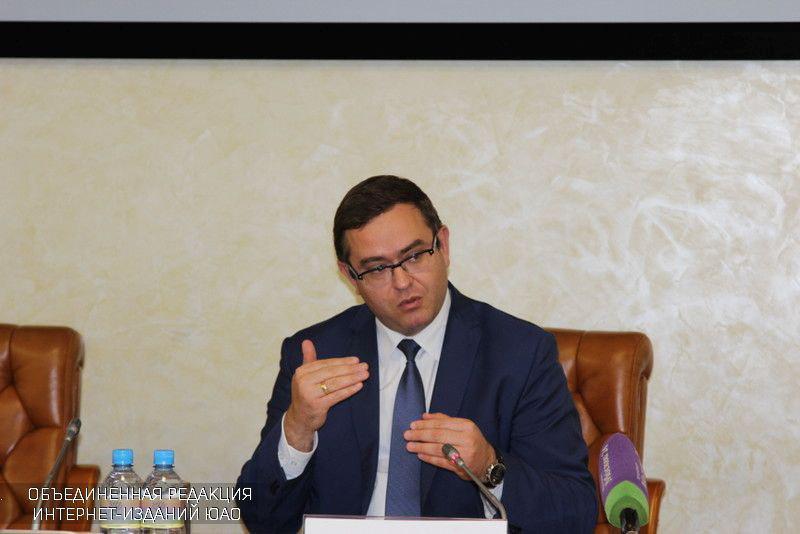 Андрей Бесштанько на пресс-конференции