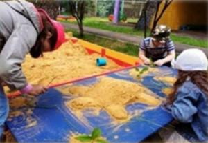 Соревнование песочных скульптур