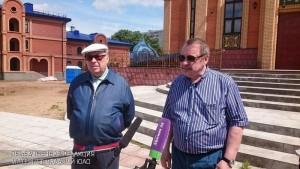 Депутат Владимир Ресин посетил строящиеся храмы