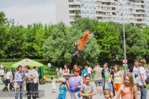 Жители района Чертаново Южное на празднике