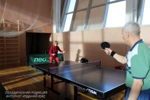 Турнир по настольному теннису в физкультурно-оздоровительном комплексе