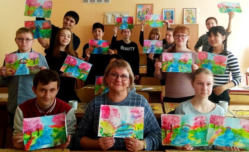 На мастер-классе Евы Аракчеевой