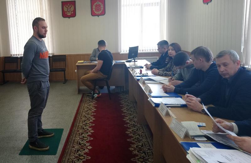 Заседание призывной комиссии района Чертаново Южное