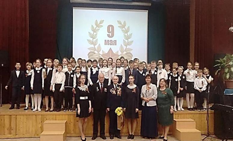 Концерт в школе №629