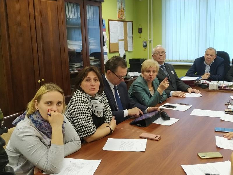 Депутаты Чертанова Южного обсудили проект планировки Юго-Восточной хорды