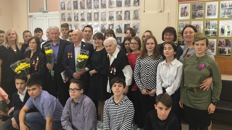 школа 1173 встреча с ветеранами