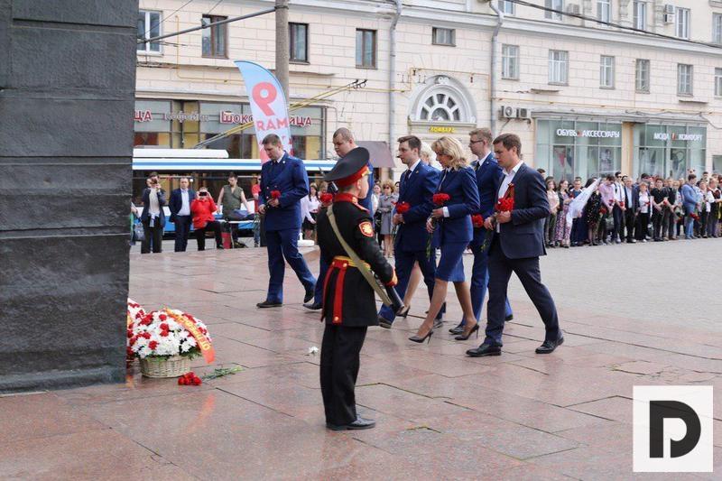 памятный митинг день победы