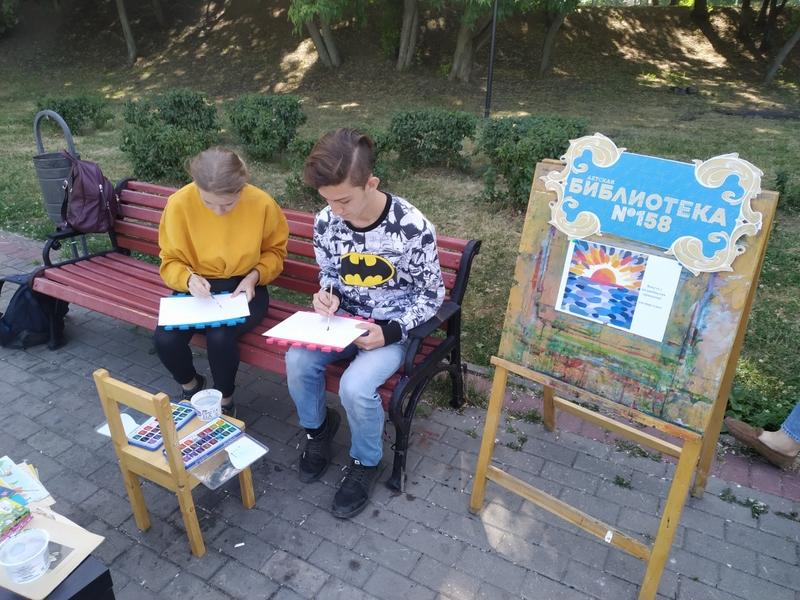 парк покровское пленэр библиотека 158