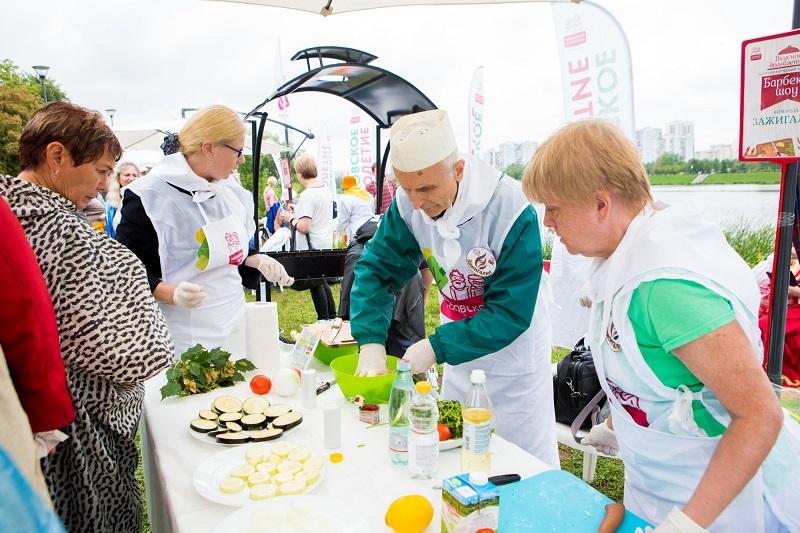 московское долголетие гастрономический фестиваль в братеевской пойме