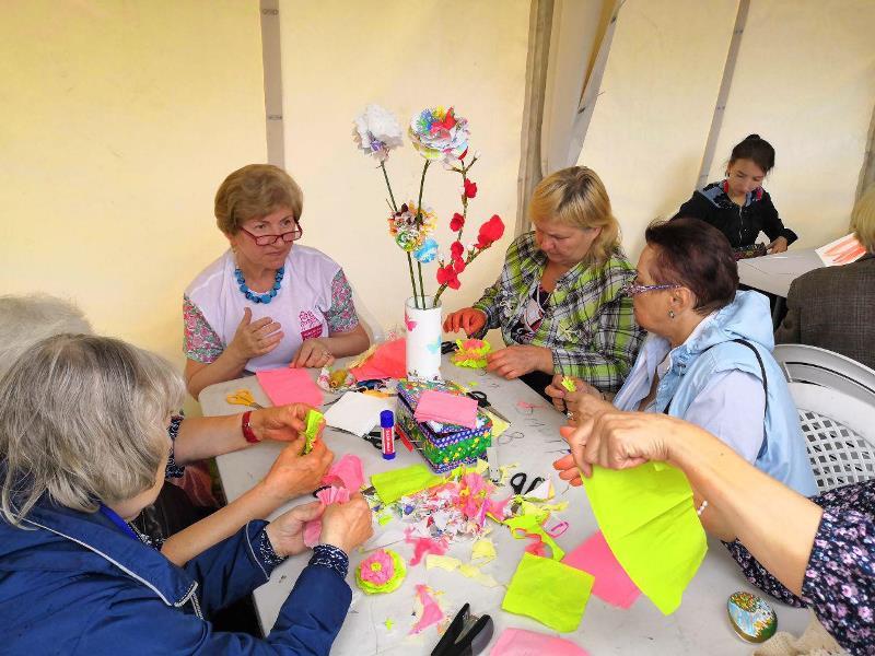 московское долголетие фестиваль мастеров